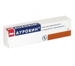 Мазь Ауробин и её применение при геморрое