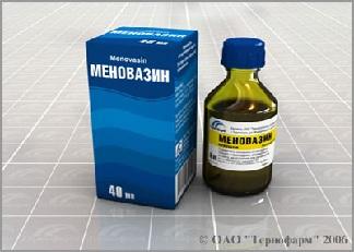 Меновазин для лечения геморроя