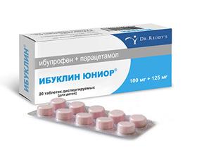 Таблетки Ибуклин при геморрое