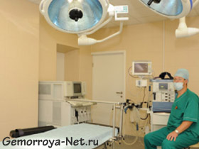 Хирургическое удаление геморроидальных узлов