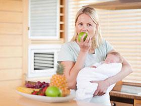 Придерживайтесь диеты при геморрое после рождения ребенка.